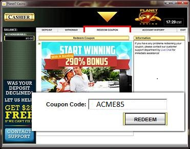 Virtual casino free chip codes parker arizona hotel casino
