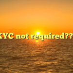 KYC not required???